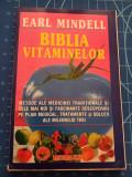Cumpara ieftin Biblia vitaminelor - Earl Mindell - Editura Elit 1991 - Medicina pentru toti, Alta editura