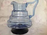 Cana/ carafa din sticla Art Deco