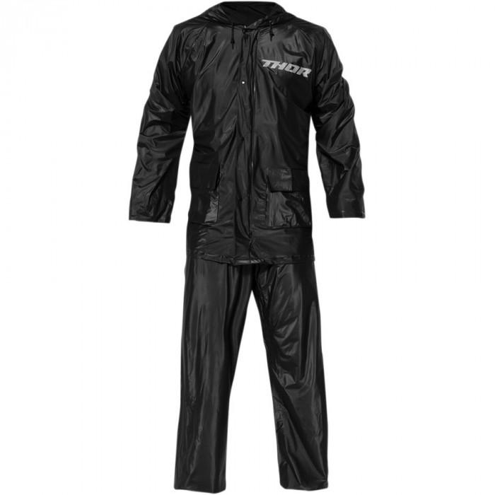 Costum de ploaie Thor culoare negru marime 2XL Cod Produs: MX_NEW 28510467PE