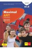 Maximal ART A1.2 - Limba germana - Clasa 5 L1, Clasa 6 L2 - Cartea elevului + CD + DVD - Giorgio Motta