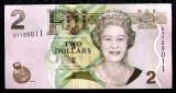 Fiji 2 $ Dollars dolari 2012 UNC necirculata **