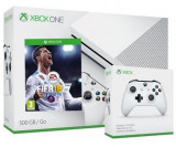 Consola Xbox One S 500GB + extracontroller + joc FIFA 18
