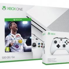 Consola Xbox One S 500GB + extracontroller + joc FIFA 18