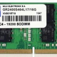 Memorie Laptop GOODRAM GR2400S464L17/16G, DDR4, 1x16GB, 2400 MHz
