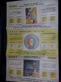 scrisoare si calendar nefolosit AUTOMOBIL CLUBUL ROMAN,ACR,stare cf.foto,T.GRATU