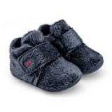 Botosei Unisex Bibi First Blue cu Blanita 17 EU, Crem, BIBI Shoes
