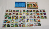 Jucarie veche - Joc DOMINO - Les Maisons - Joc de colectie 1970
