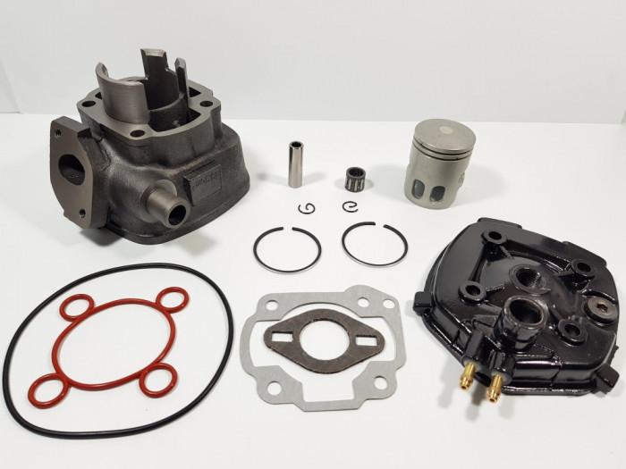 Kit Cilindru - Set Motor + Chiuloasa Scuter Aprilia SR 49cc 50cc APA