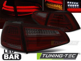 Stopuri LED compatibile cu VW GOLF 7 13-17 Rosu Fumuriu LED BAR