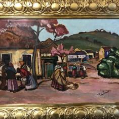 Pictor Evreu, Tibor Erno din Oradea, Peisaje, Ulei, Impresionism
