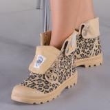 Pantofi sport dama Mania leopard, 37 - 40