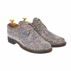 Pantofi dama casual de toamna, din piele naturala - P102BEJ2