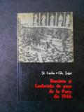 ST. LACHE, GH. TUTUI - ROMANIA SI CONFERINTA DE PACE DE LA PARIS DIN 1946