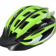 Casca de protectie Bikeforce STORM verde M (55-58)