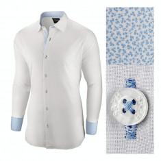 Camasa pentru barbati, alba, regular fit, bumbac, casual - Business Class Ultra II, L, M, S, XL, XXL