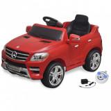 Mașină electrică Mercedes Benz ML350 cu telecomandă, roșu, vidaXL