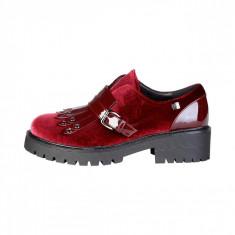 Pantofi femei Laura Biagiotti model 2254, culoare Rosu, marime 36 EU