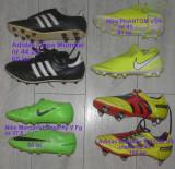 Adidas,Nike,ghete cu crampoane de fotbal marimea 37,5 si 44,5 60 lei/buc, 37.5, 44 2/3, Negru, Verde