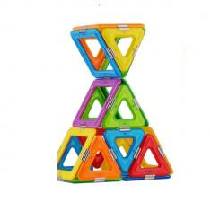 Joc Magnetic Educativ de Constructie 3D Magspace 36 Piese Colorful World Set