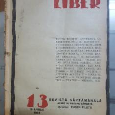 Cuvântul Liber, Nr. 13, 19 aprilie 1924