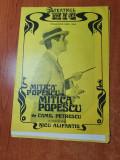 afis program teatrul mic stagiunea 1983-1984- mitica popescu cu mitica popescu