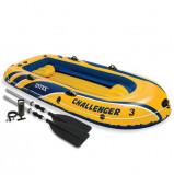 Intex Challenger 3 Set barcă gonflabilă cu vâsle și pompă 68370NP