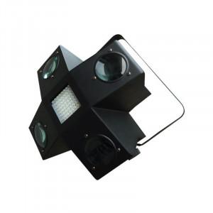 Led light cu stroboscop, 256 LED-uri colorate, 4 canale DMX