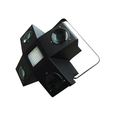 Led light cu stroboscop, 256 LED-uri colorate, 4 canale DMX foto