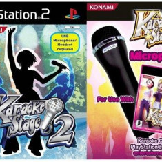 Karaoke Stage & Microphone PS2