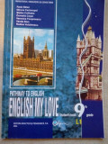 ENGLISH MY LOVE - Student's Book 9th Grade