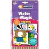 Carte de colorat cu apa - Jungla vesela.