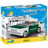 Cumpara ieftin Set de construit Cobi, Youngtimer Collection, Wartburg 353 Polizei (84 pcs)