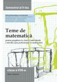 Teme de matematica clasa a VIII-a semestrul II 2014-2015/Petrus Alexandrescu