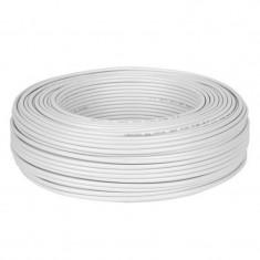 Cablu coaxial cupru 1 x 0.12 mm, 75 Ohm, rola 150 m