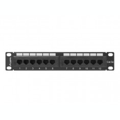 Patch Panel Lanberg 10 inch 12 porturi Black