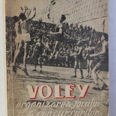 VOLEI , ORGANIZAREA JOCULUI SI A CONCURSURILOR , 1951