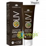 Crema Protectoare Pentru Fata Oliv SPF50 50ml, Cosmetic Plant