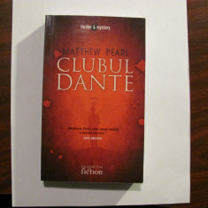 "AF - Matthew PEARL ""Clubul Dante"""