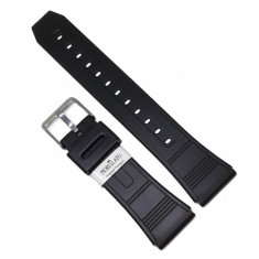 Curea pentru Ceas Morellato Calibra Goma Soft - Culoare Neagra - 22mm - A01U1260198019MO