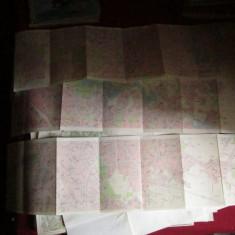 harti 3 planse bucuresti x3