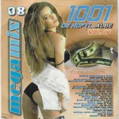 CD 1001 De Nopți...Albe Vol. IV, original, manele: Salam,Vali Vijelie,Adi Minune