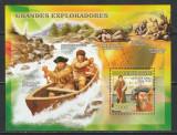 Guinea Bissau 2007 - Mari Exploratori S/S 1v MNH, Nestampilat