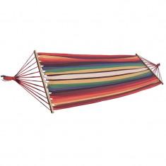 Hamac cu intinzator Sun Smile, 200 x 100 cm, multicolor