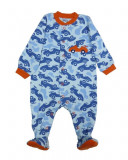 Salopeta / Pijama bebe cu masinute Z77