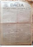 Ziarul Dacia, editie 1921