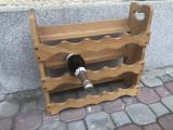 Vinoteca germana,din lemn,suport pentru 15 sticle