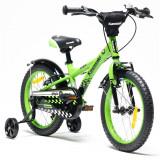 Bicicleta copii Kawasaki Ninja 16 inch green