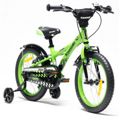 Bicicleta copii Kawasaki NINJA 16 green by Merida Italy for Your BabyKids