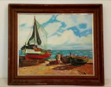 Pictura marina, Marine, Ulei, Realism
