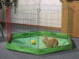 Cumpara ieftin Husa suport pentru tarc iepuri, 6 laturi, 60x60x10 cm, Beeztees